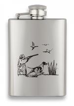 Hip Flask ALBAINOX 3.5 oz hunter