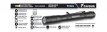 Tactical flashlight FAVOUR 250 Lumens
