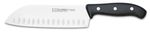 "DOMVS SANTOKU HOLLOW EDGE KNIFE 18 cm - 7"" E 3C"