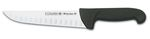 "PROFLEX BLACK HOLLOW EDGE BUTCHER KNIFE 20 cm - 8"" FH 3C"