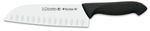 "BLACK SANTOKU HOLLOW EDGE KNIFE PROFLEX 18 cm - 7"" D 3C"