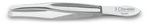 NIQUEL-PLATED STRAIGHT TWEEZER 8 cm. D 3C