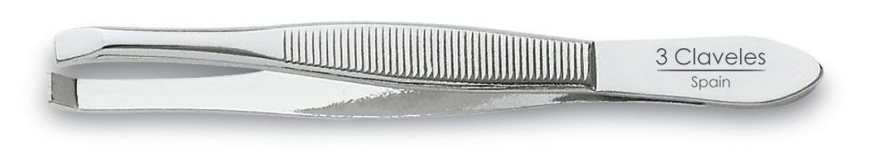 NICKEL-PLATED CLAW TWEEZERS 8 cm. D 3C