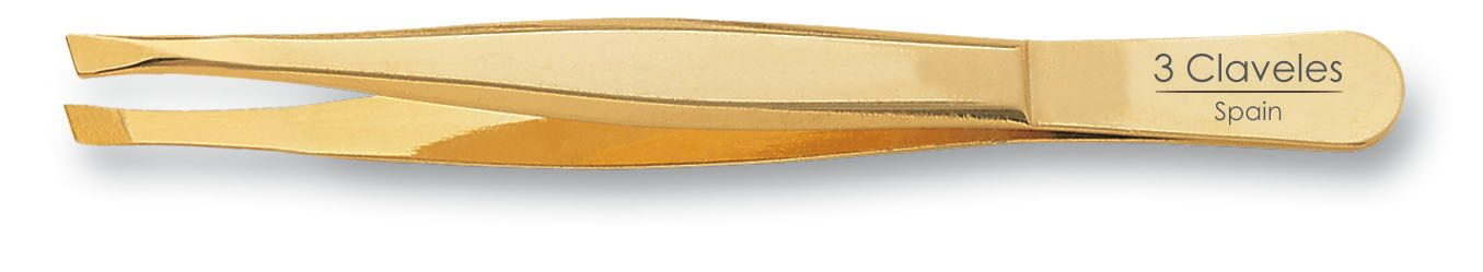 GOLD CLAW-SLANTED TWEEZER 9 cm. D 3C