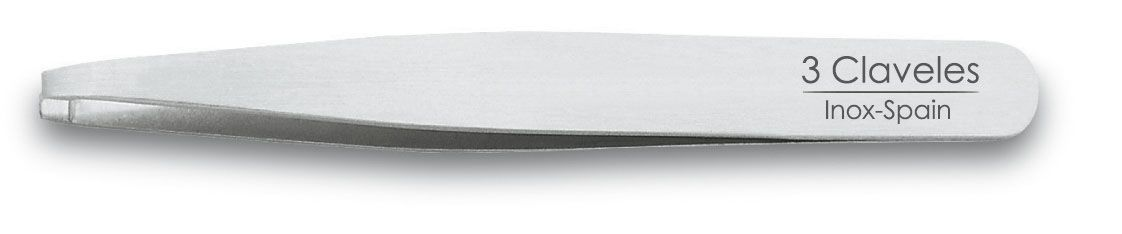 STAINLESS STEEL STRAIGHT TWEEZER 10 cm D 3C