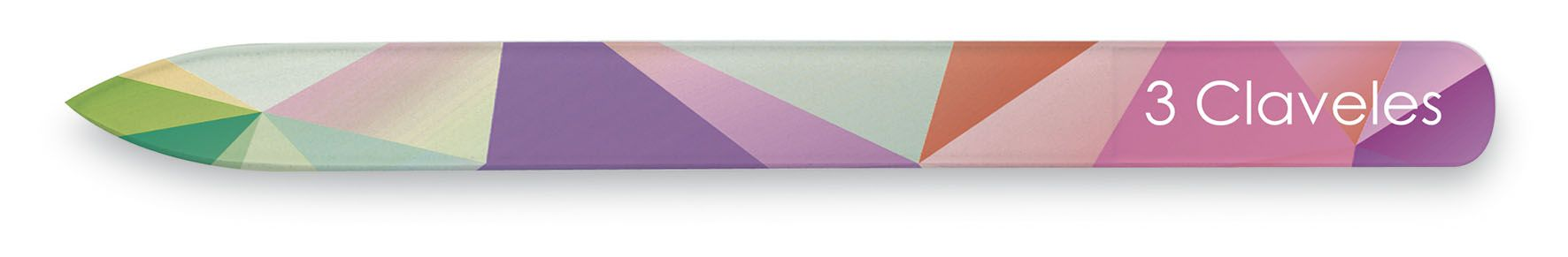 GEOMETRY GLASS NAIL FILE D 3C