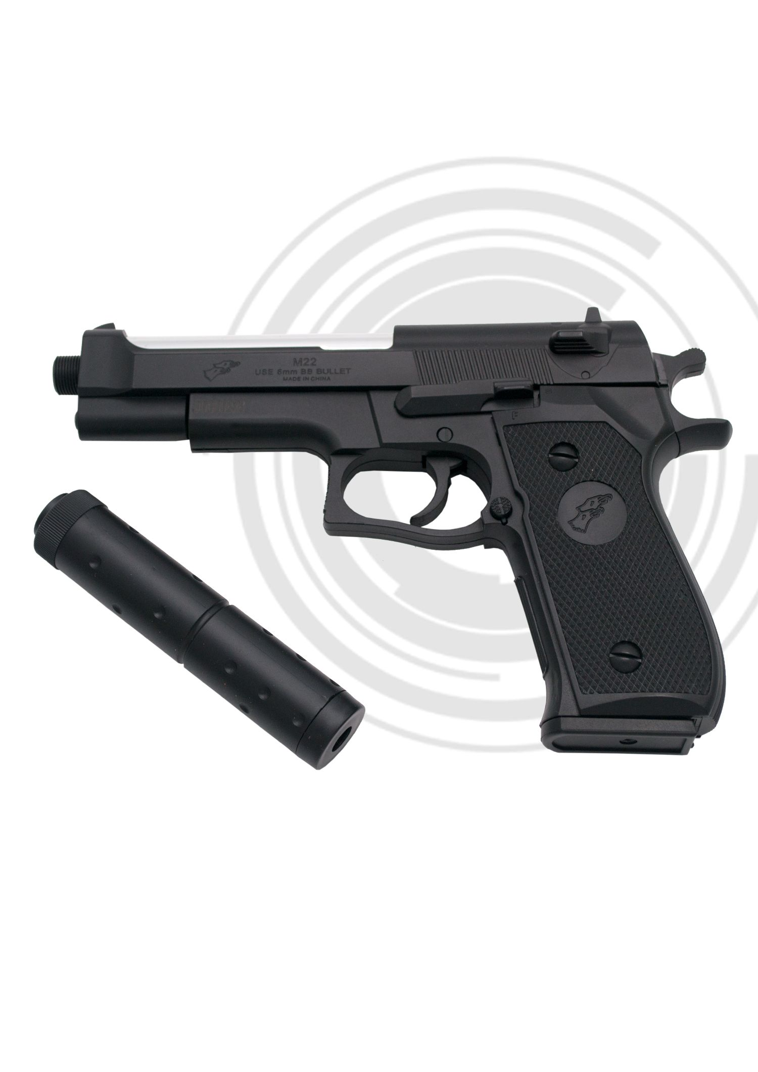 Pistola Airsoft M22N Amont