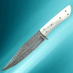 DAMASCUS COWBOY KNIFE