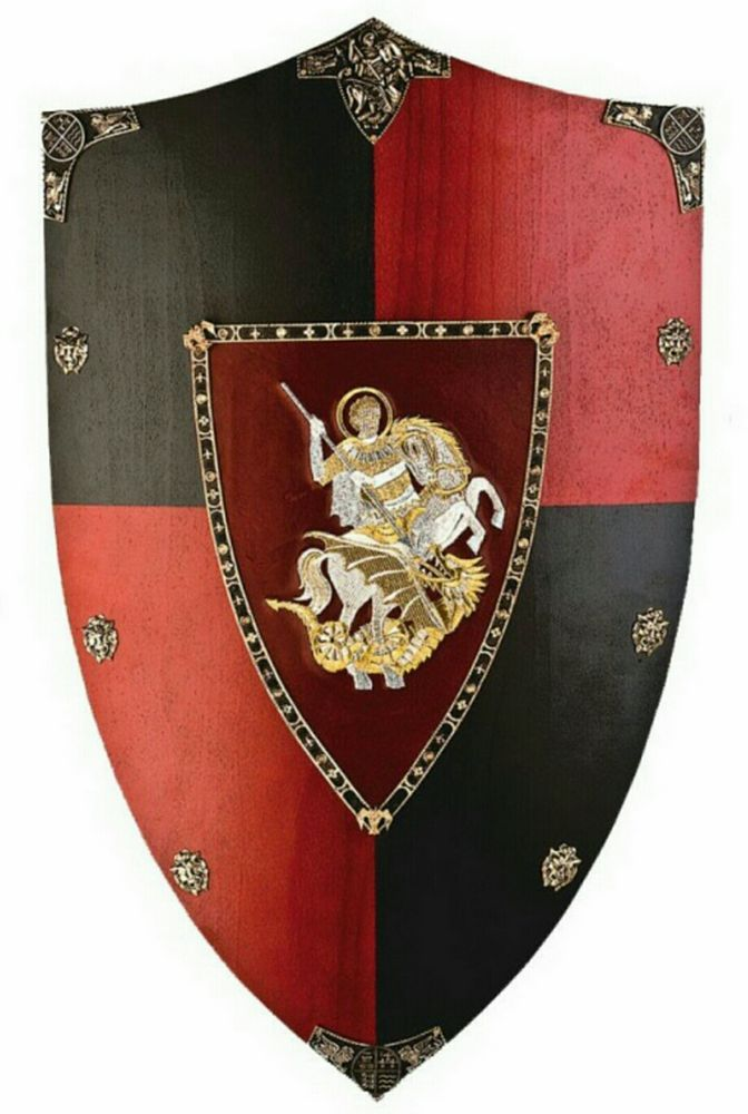 871 Principe Negro wood shield for recreation