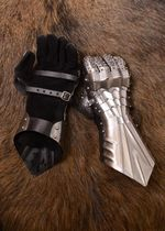 1001065800 Functional gauntlets nailed and sewn