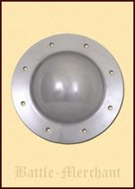1101034801 Medieval shield with rivets, 21.5 cm