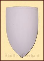 1101062201 Medieval wooden shield, blank for auto painting