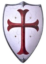 1580357600 Wooden shield for children Knights Templar