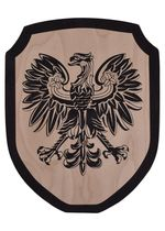 1580370400 Coat of arms Wooden knight for children wooden eagle
