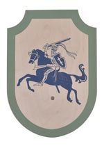 1580370600 Wooden shield for children Simon the Stormy