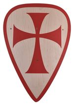 1580391500 Wooden shield for children of the Crusaders