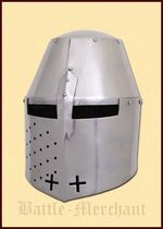 1716382901 Gran casco Pembridge, c.1370, 2 mm de acero