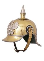 1716603500 Helmet with prussia 1867 tips, brass