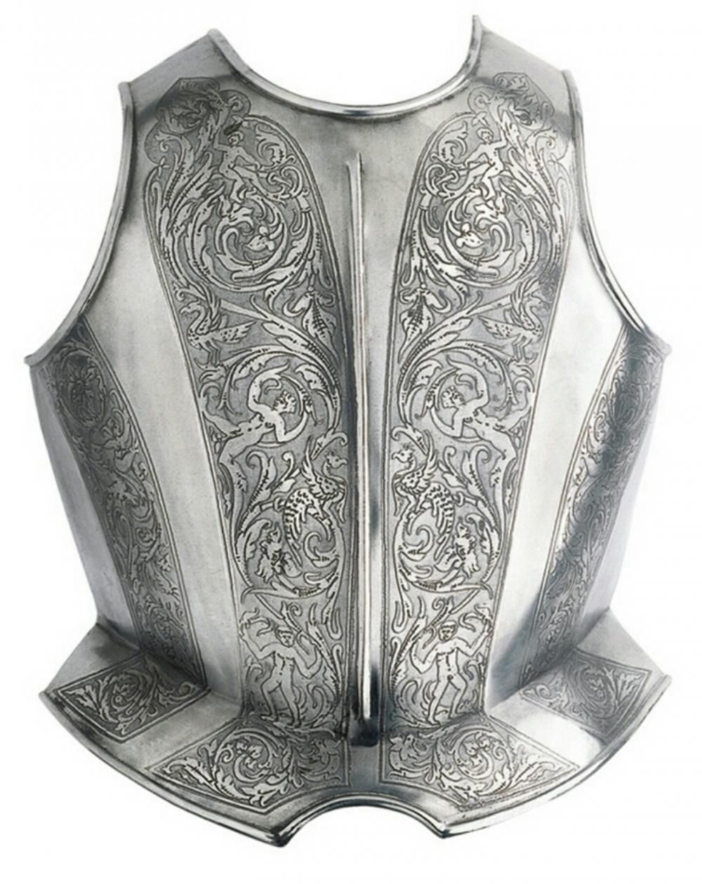932 Etched breastplate for recreation