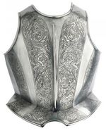 932 Etched breastplate