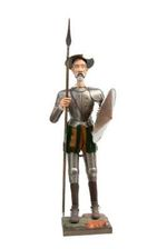 DQ4000 Armor of Don Quixote standing