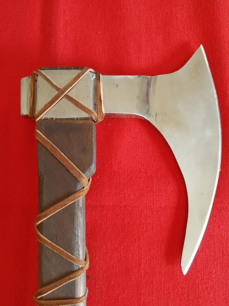 Functional handmade viking ax (own production)