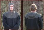 ULF-FRW-CSQ Hangman or riveted flat chainmail hood