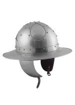 ULF-HM-23-S Iron hat with cheeks, 2 mm steel