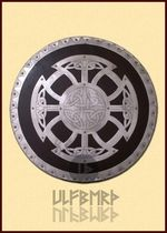 ULF-SD-11 Viking round wooden shield