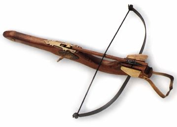 Small decorative crossbow
