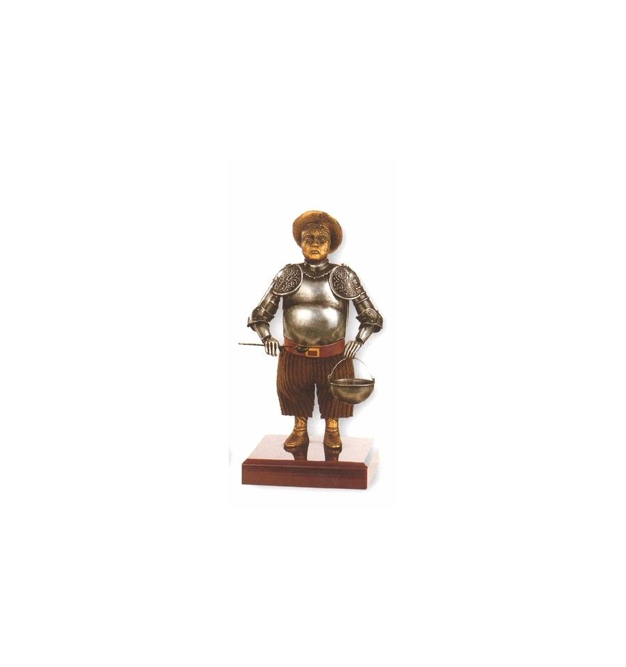 Sancho Panza figure in miniature