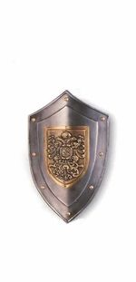 Eagle shield with sword