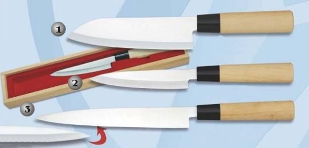 kitchen knives - Japanese Knife