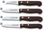 KITCHEN KNIVES WITH WOOD HANDLE