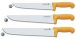 BUTCHER KNIVES WITH YELLOW HANDLE
