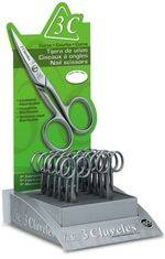 EXHIBITOR OF 12 SCISSORS WITH CURVED BLADE