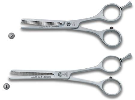 3 CLAVELES MATE ES-40 AND ES-46 HAIRDRESSING SALON SCISSORS
