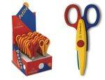 ZIG-ZAG SCHOLASTIC SCISSORS PRESENTED IN PACK
