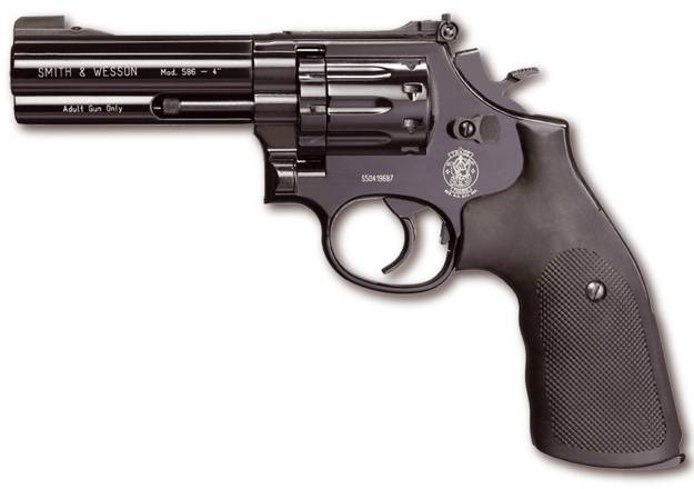 Smith and wesson revolver 586 of 4 co2 pistol