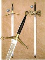 CLAYMORE AND BATMAN SWORD