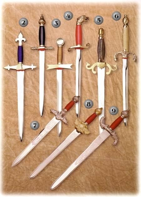 1804 The Black Knight Dagger