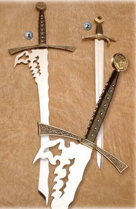 DEVIL SWORD AND FINGER SWORD 1 BLOOD GROVE