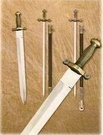 FRENCH SWORD AND MASONICS SABRES