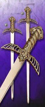 LANCELOT, ROLDAN AND BARBARIAN SWORD