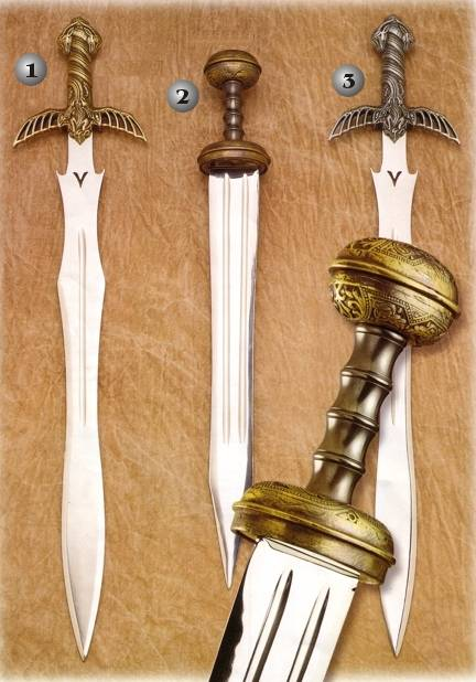 BARBARIAN SWORD AND CENTURION SWORD