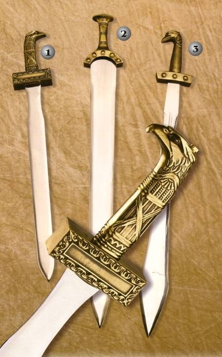 CELTIC AND ROMAN SWORDS