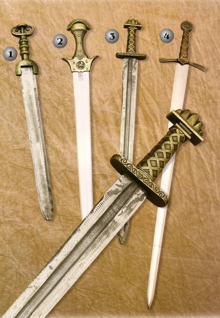 VIKING SWORDS, CARTHAGINIAN SWORD, AND NORMAND SWORD