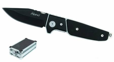 Black tactic penknife from Alpino