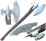 MEDIEVAL RECREATIONS AXES.