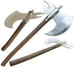 BATTLE READY AXES.
